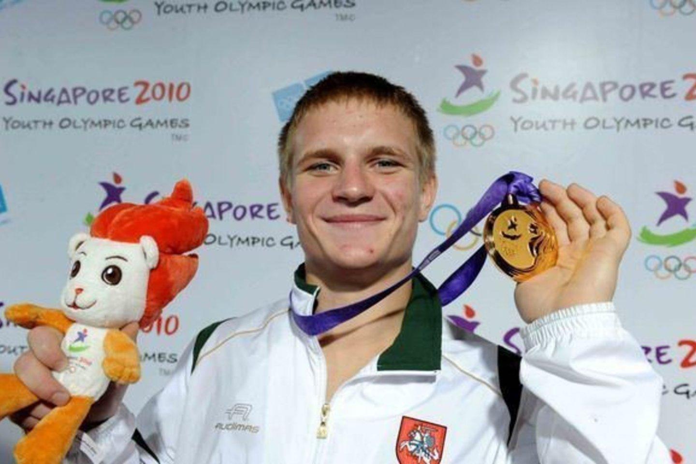Evaldas Petrauskas svajoja pasirodyti trečiose iš eilės olimpinėse žaidynėse<br>A. Pliadis.
