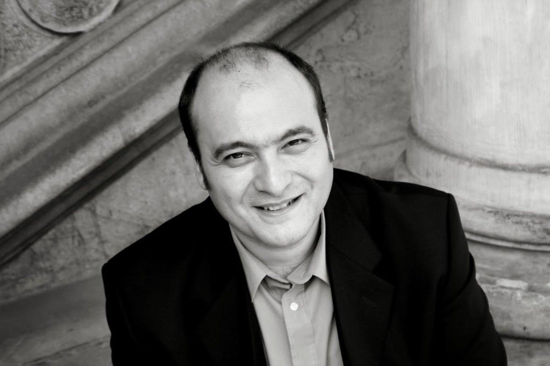 """Naują muziką senam """"Elenos pagrobimo"""" libretui sukūrė senosios muzikos specialistas iš Italijos M.Vitale.<br>E.Zamulinskos nuotr."""