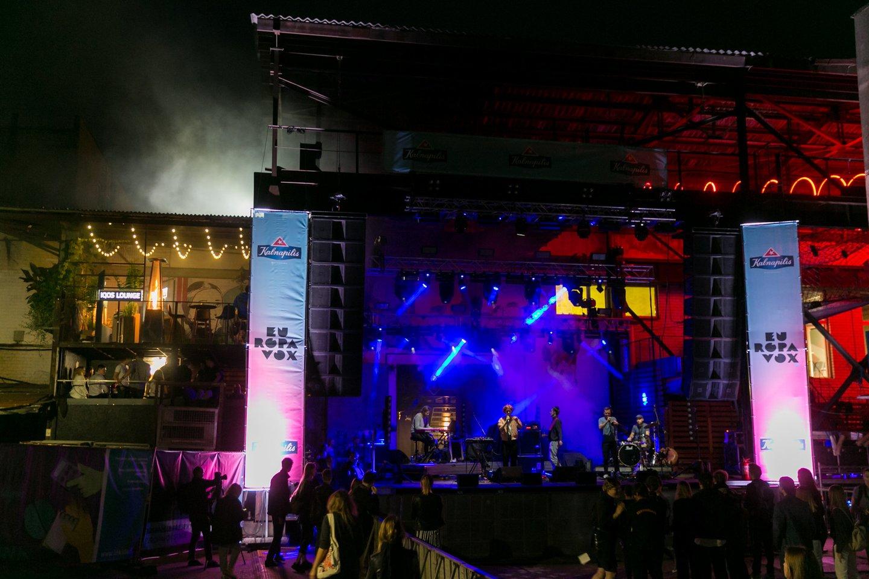 "Festivalio ""Loftas Fest"" akimirka.<br>T.Bauro nuotr."