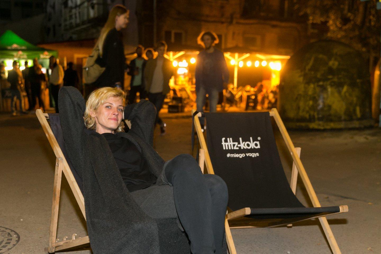 "Festivalio ""Loftas Fest"" rengėja Živilė Diawara.<br>T.Bauro nuotr."