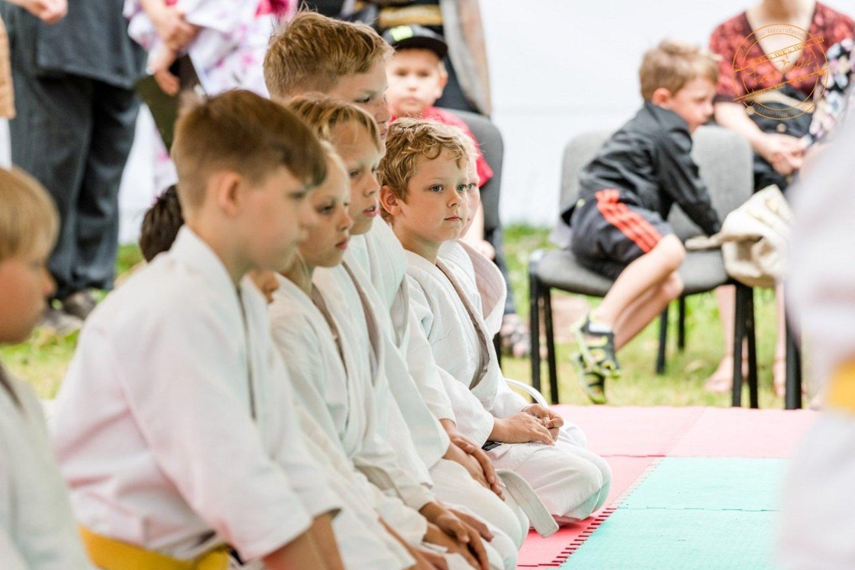 Aikido treniruotė.