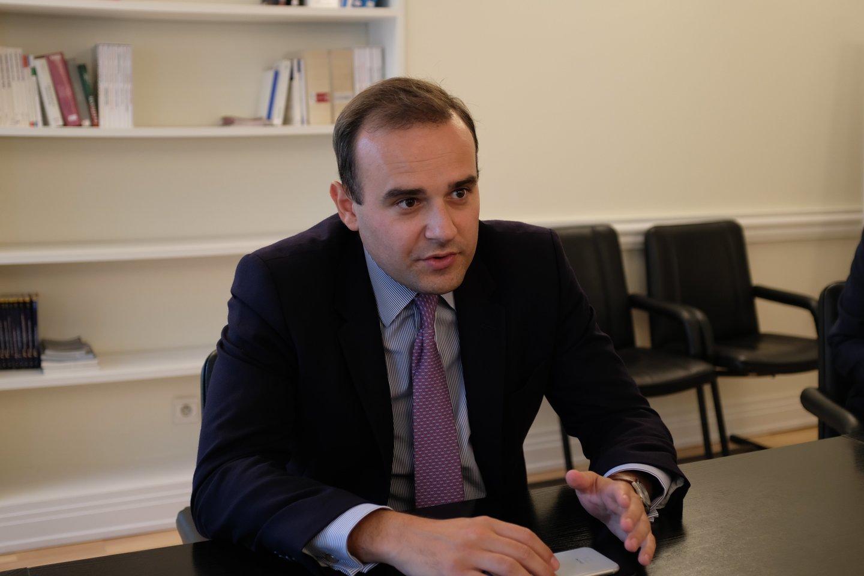 Vilniuje viešėjęs Prancūzijos parlamento narys Alexandre Holroyd įsitikinęs, kad Baltijos šalys yra Europos sėkmės pavyzdys.