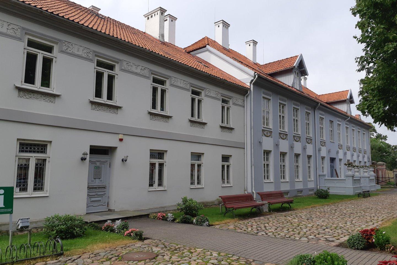 Buvusiame dvare – Mažajai Lietuvai skirtas muziejus.<br>D.Jonušienės nuotr.