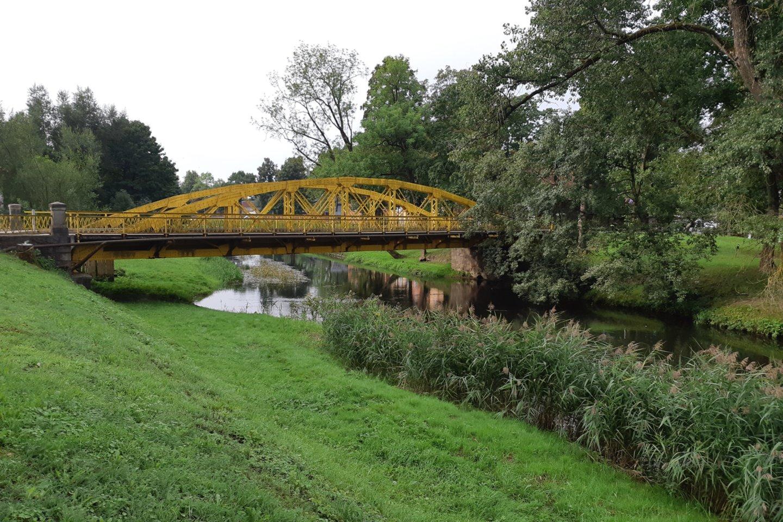 Geležinis tiltas – Šilutės pasididžiavimas.<br>D.Jonušienės nuotr.
