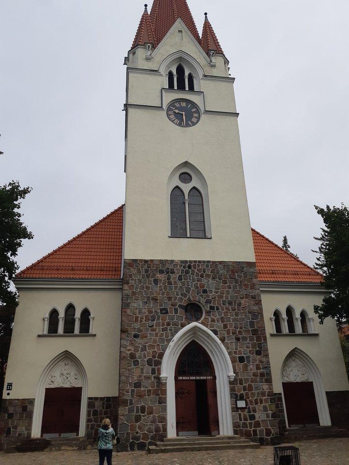 Šilutės evangelikų liuteronų bažnyčia – viena iš nedaugelio likusių nesugriautų Mažojoje Lietuvoje ir Karaliaučiaus krašte.<br>D.Jonušienės nuotr.