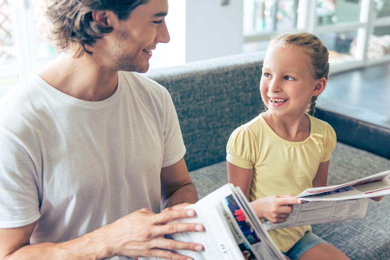 Tėvams svarbu laiku atkurti santykius su vaikais.<br>123rf asociatyvioji nuotr.