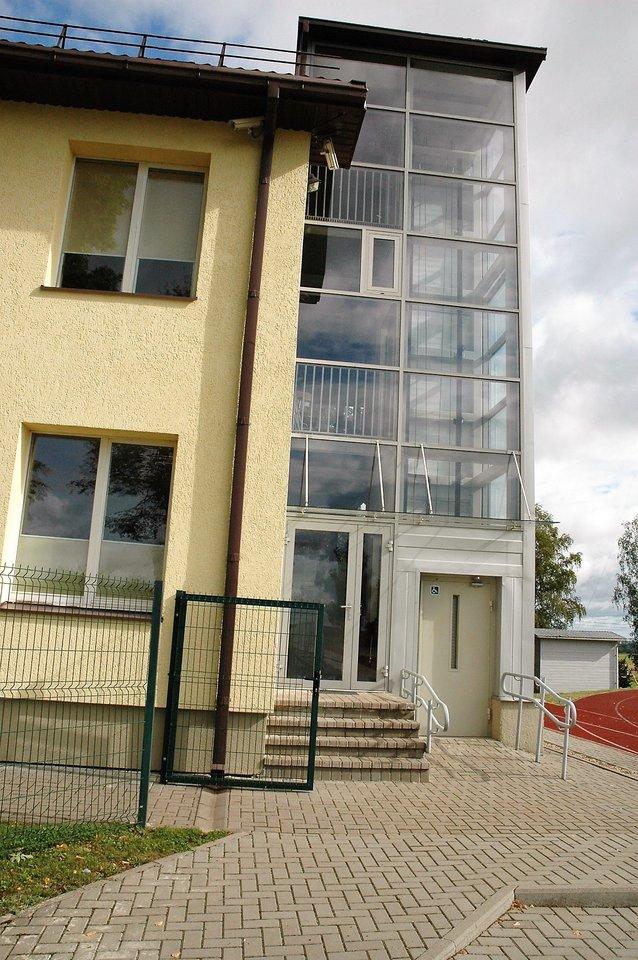 Pastate įrengtas liftas.<br>L. Jakubauskienės nuotr.