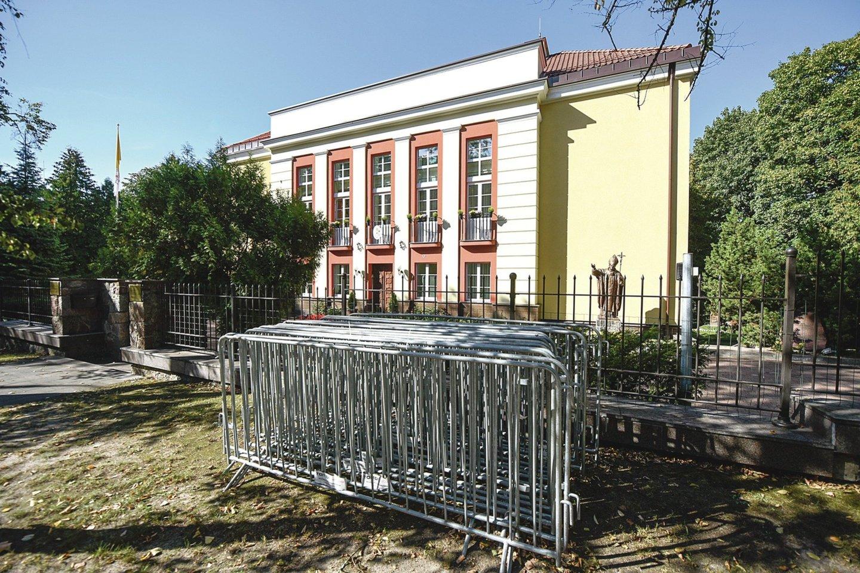 Apaštalinėje nunciatūroje seniau buvo įsikūrusi Lietuvos dailininkų sąjunga.<br>D.Umbraso nuotr.