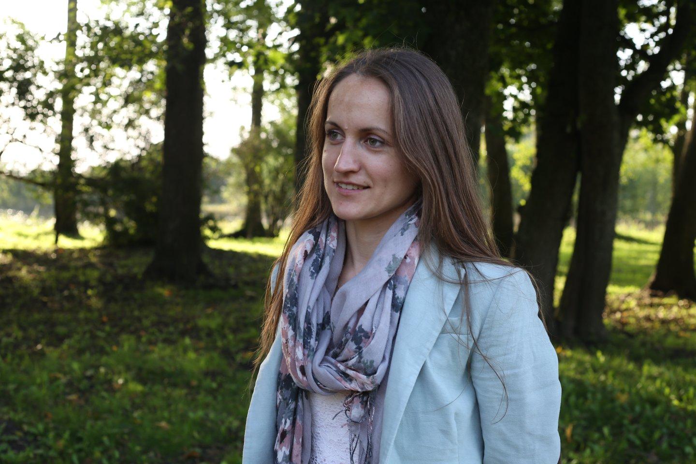 Miškininkė Božena.<br>Asmeninio archyvo nuotr.