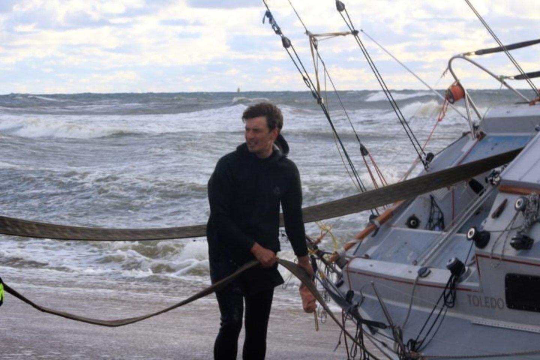 Jachtų regata jūroje nusinešė tris gyvybes.<br>Arbusis.lt nuotr.