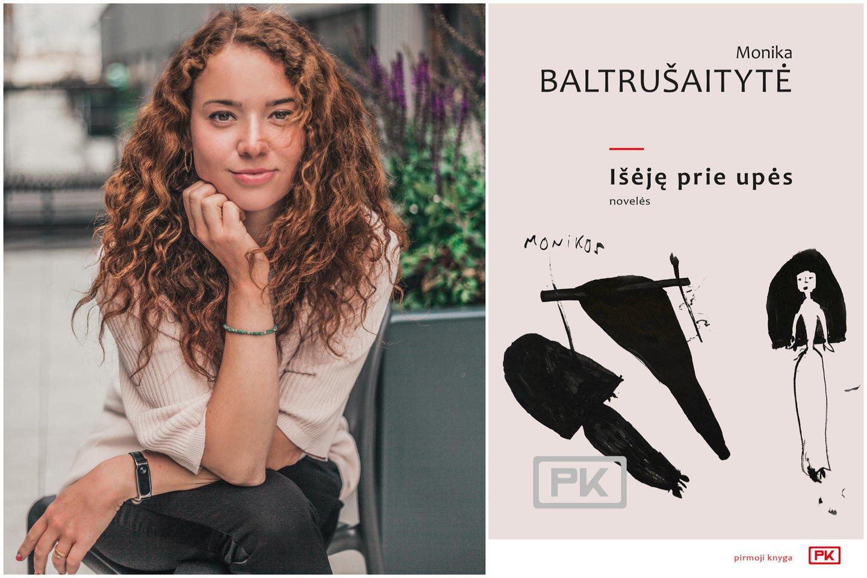 M.Baltrušaitytė išleido debiutinę knygą.<br>Asmeninio albumo nuotr.