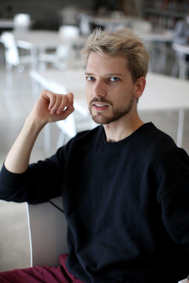 Romas Zabarauskas.<br>R.Danisevičiaus ir asmeninio albumo nuotr.