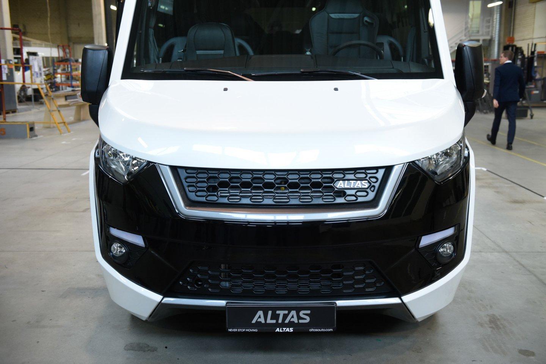"""""""Altas Viator"""" serijinę gamybą kompanija ketina pradėti ateinančių metų balandį."""
