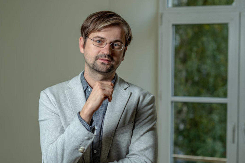 Lietuvos vėjo elektrinių asociacijos direktorius Aistis Radavičius.