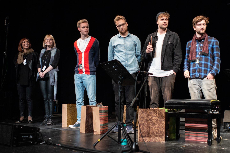 """Vilnius Jazz Young Power"" konkurso finalininkai.<br>V.Skaraičio nuotr."