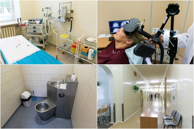 Taikant elektrošoką elektros impulsų prietaisogalingumas nustatomas atsižvelgus į paciento amžių, svorį ir varžos rodiklius.<br>T.Bauro nuotr.