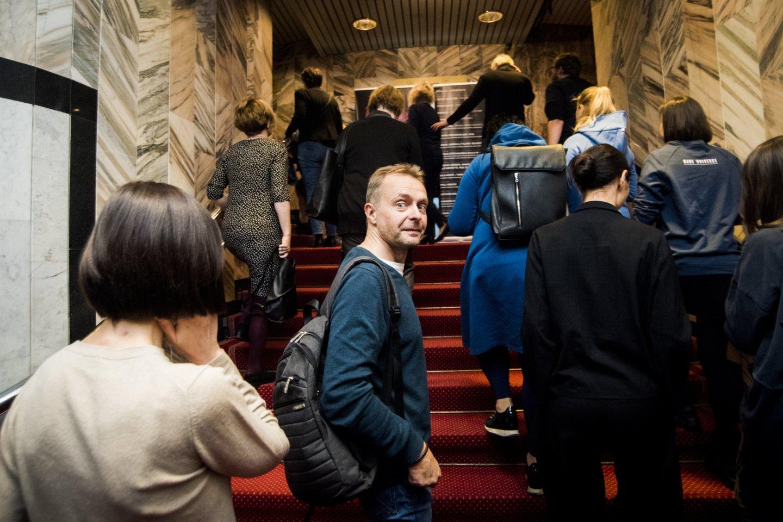 Koncerte apsilankė daug žinomų žmonių.<br>D.Matvejevo nuotr.