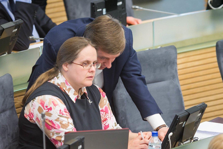 Ramūnas Karbauskis ir Širinskienė Agnė kaltinami darę spaudimą VTEK.