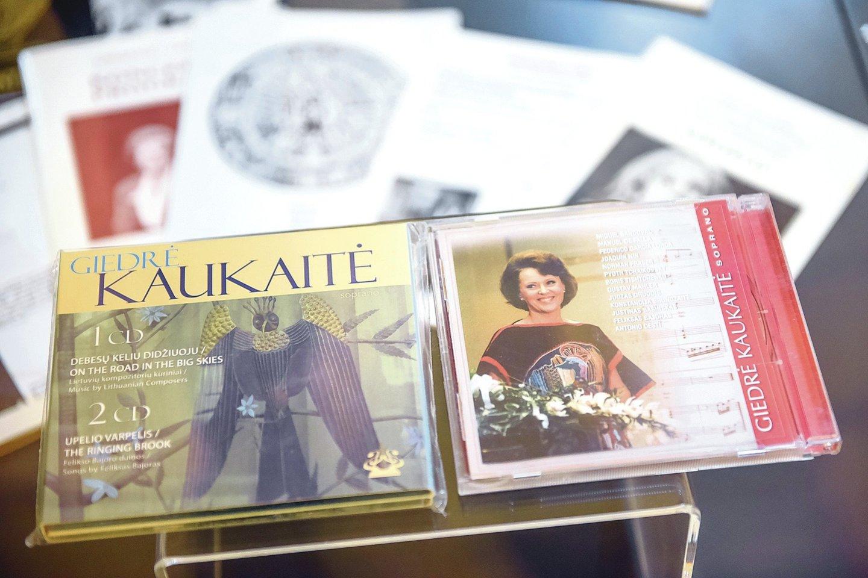 Solistės atsidavimą lietuviškai muzikai liudija jos pačios sudarytas dvigubas lietuvių vokalinės kūrybos albumas.<br>D.Umbraso nuotr.