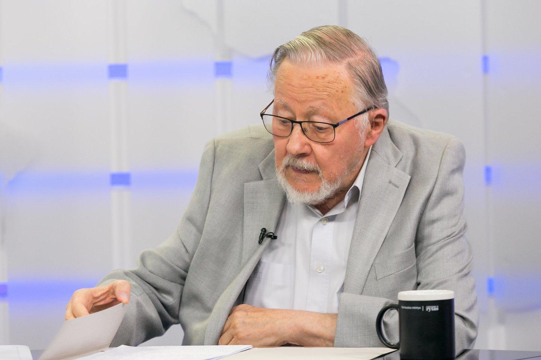 Vytautas Landsbergis pasisakė apie valdančiųjų užmojus.