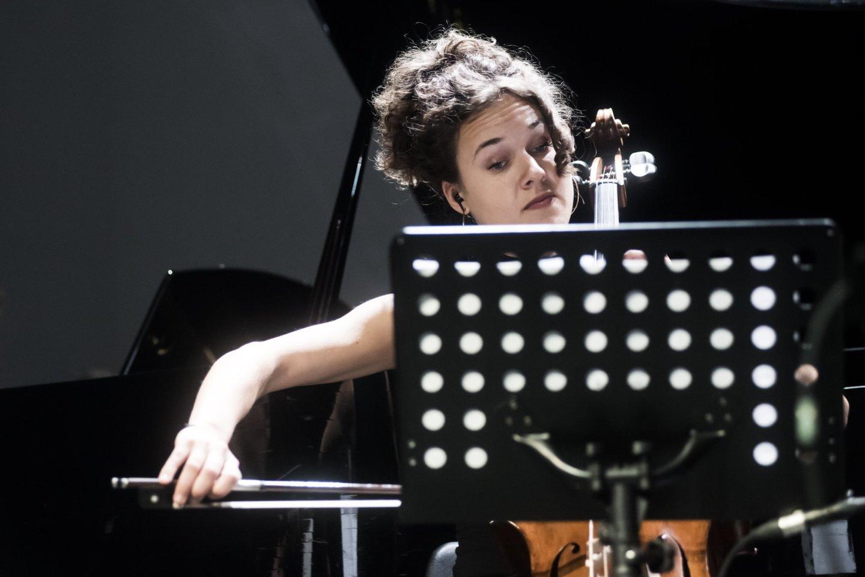 """""""Synaesthesis"""" kerėjo klausytojus aktualiąja muzika.<br>D.Matvejevo nuotr."""