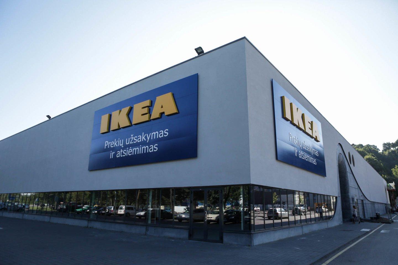 """Nedaug kas gali lenktyniauti su """"Ikea"""" į reklamas įpinant pokštus ir jų virusine sklaida.<br>G.Bitvinsko nuotr."""