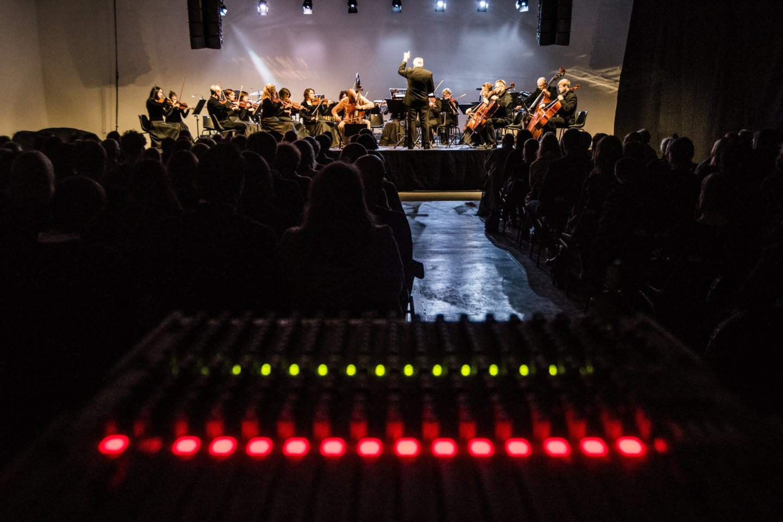 Ph.Niblocko, M.Lindbergo ir J.Wolfe kūrinių koncertas.<br>D.Matvejevo nuotr.