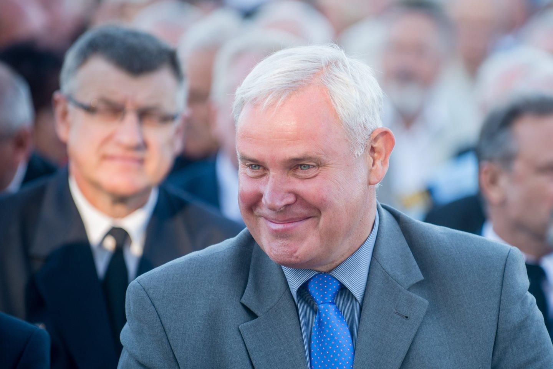 Klaipėdos miesto meras Vytautas Grubliauskas.<br>J.Stacevičiaus nuotr.