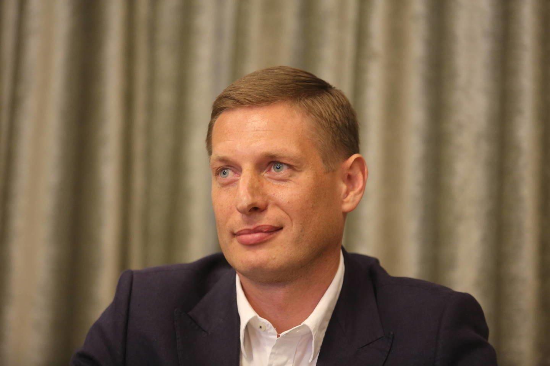 S.Slyva tapo masinio futbolo asociacijos prezidentu.<br>M.Patašiaus nuotr.