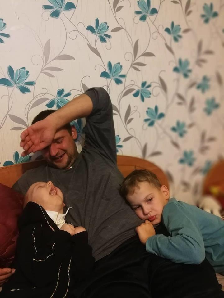 Tėtis fotografuotis labai nemėgsta.<br>Asmeninio archyvo nuotr.