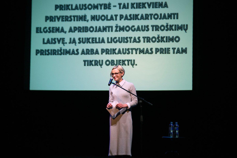 Spektaklio premjeros Ukmergėje akimirkos.<br>A.Didžgalvio nuotr.