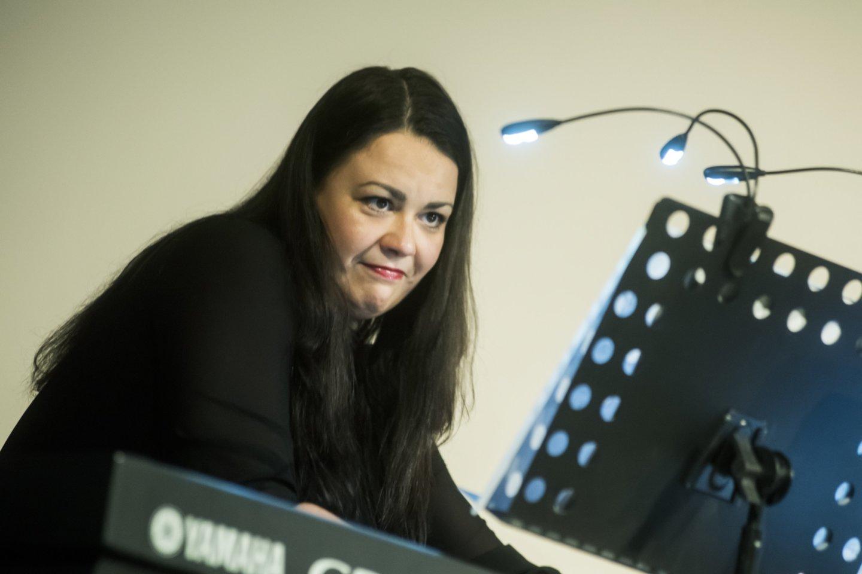 "Lietuvos ansamblių tinklo koncertas""Virtual Orchestra"": I.Baikštytė.<br>D.Matvejevo nuotr."