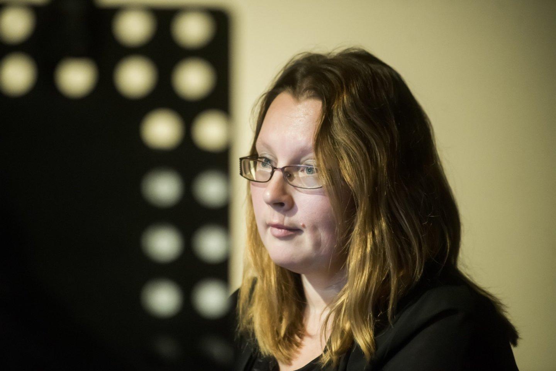 "Lietuvos ansamblių tinklo koncertas""Virtual Orchestra"": J.Punytė.<br>D.Matvejevo nuotr."