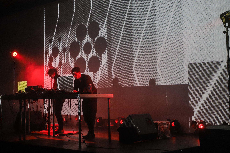 "Mouse on Mars koncertas""Gaidoje"".<br>D.Labučio nuotr."