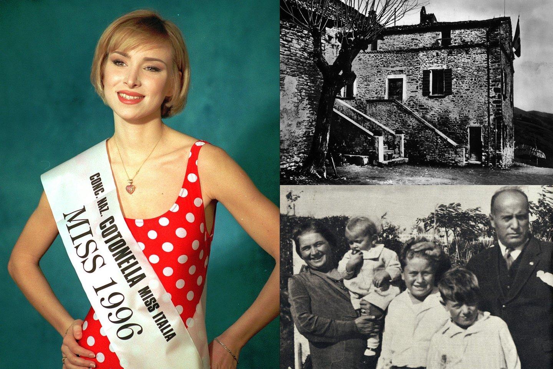 Kadaise gražiausia itale pripažinta Rachele organizuoja turą po senelio gimtinę.<br>Scanpix nuotr.