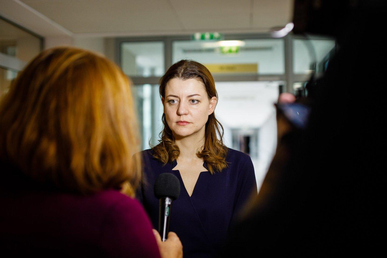Seimo narė Monika Navickienė.<br>E.Grėbliūnaitės nuotr.