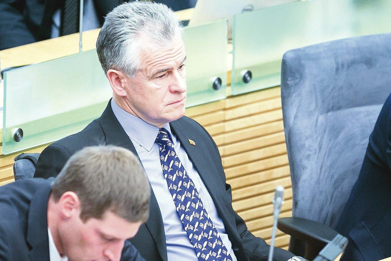 Vadinamuosius bambalius ypač gynė valstiečių frakcijos atstovas J.Jarutis.