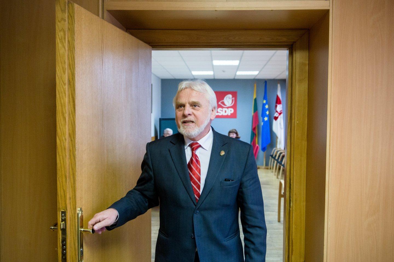 Alytaus meras Jurgis Krasnickas.<br>J.Stacevičiaus nuotr.