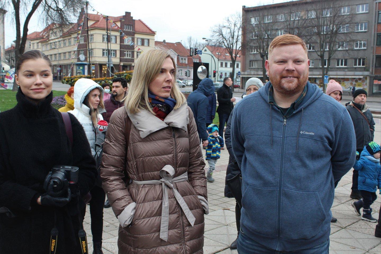 Seimo narė Agnė Bilotaitė (viduryje) nepasisakė.<br>G.Pilaičio nuotr.
