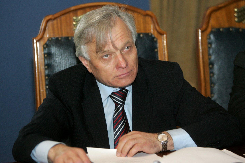 Kauno valstybinio choro meno vadovas ir vyriausiasis dirigentas P.Bingelis<br>A.Barzdžiaus nuotr.