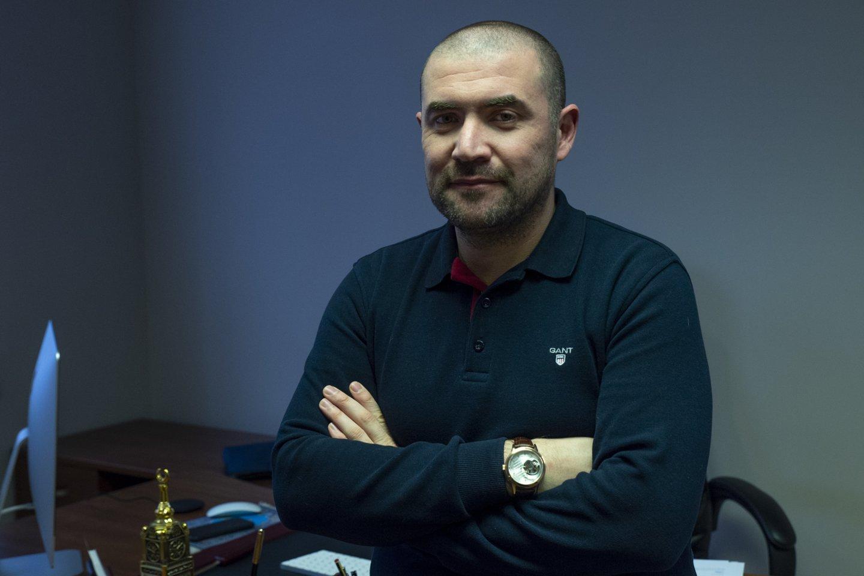 Verslininkas Farruhas Azimovas savo ateitį sieja su Lietuva.<br>V.Ščiavinsko nuotr.