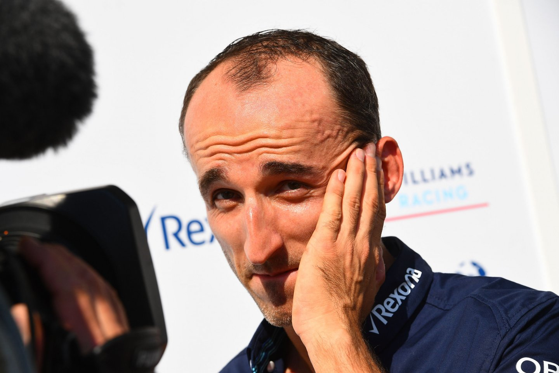 Robertas Kubica grįžta į F-1.<br>AFP/Scanpix nuotr.