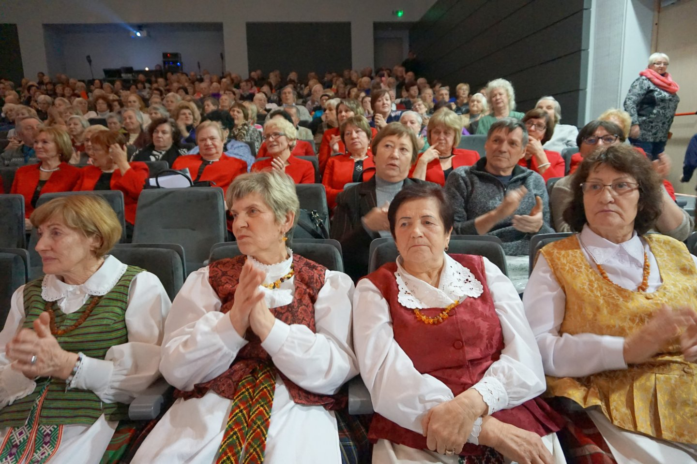 Publika negailėjo plojimų.<br>Aldonos Milieškienės nuotr.