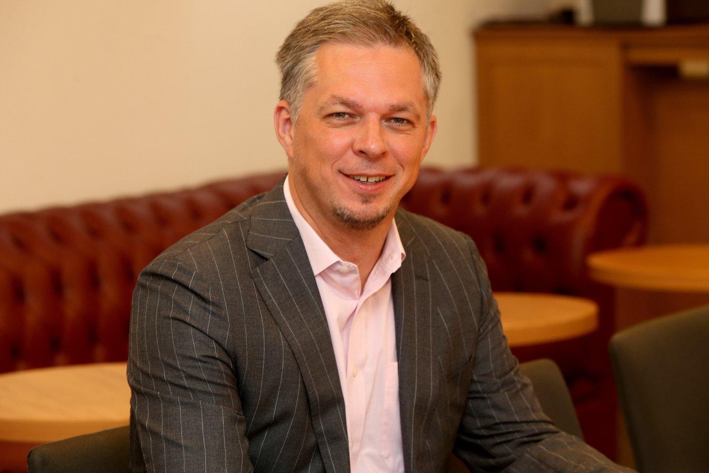 """Koncerno """"Vikonda"""" vadovas M.Snarskis Kauną iškeitė į Kėdainius."""