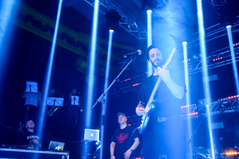 """""""G &amp; G Sindikatas"""" metus vainikavo išskirtiniu koncertu.<br>D.Umbraso nuotr."""