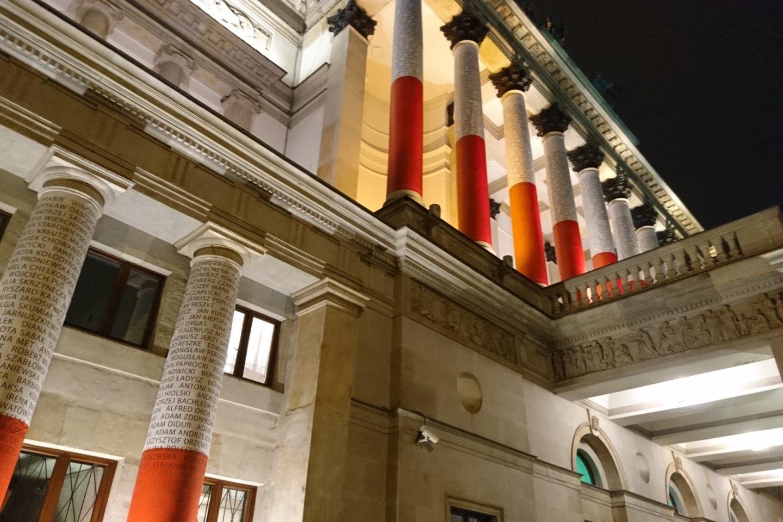 Varšuvos didysis teatras.<br>A.Andrikonytės nuotr.