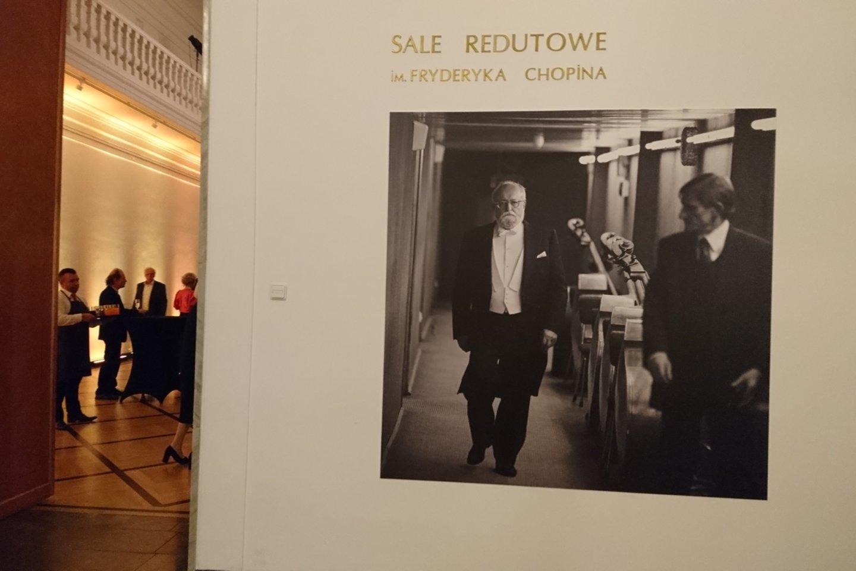 Lenkijos nacionalinė opera surengė ir parodą jubiliatui.<br>A.Andrikonytės nuotr.
