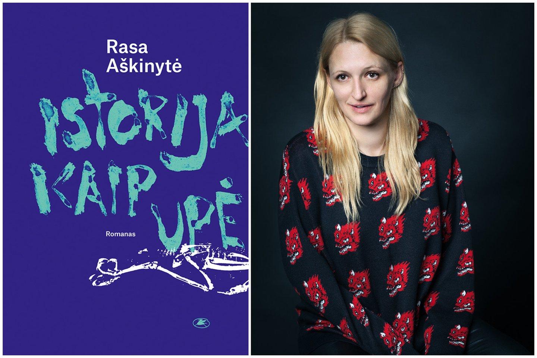R.Aškinytė išleido naują romaną.<br>E.Samulionytės nuotr.