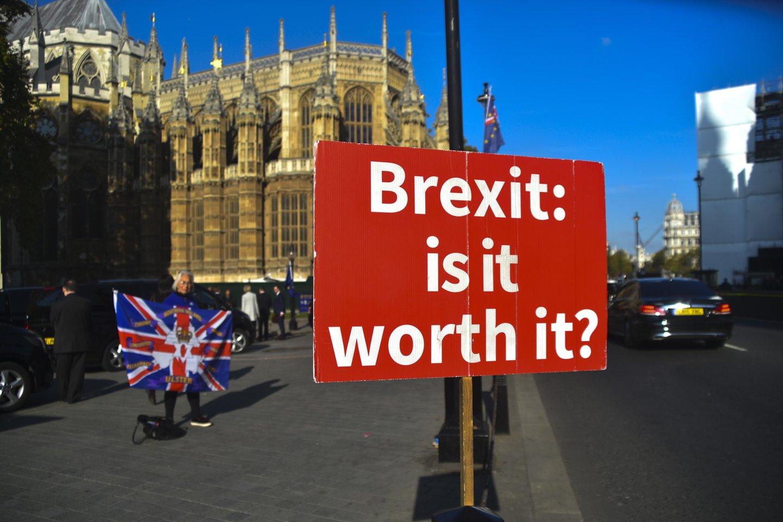 R.Vilpišausko teigimu, Jungtinės Karalystės sprendimo pasitraukti negali paaiškinti klasikiniai ekonominiai ir saugumo aiškinimai, tačiau atsakymą galima rasti šalies vidaus situacijoje.<br>Zuma Press/Scanpix nuotr.