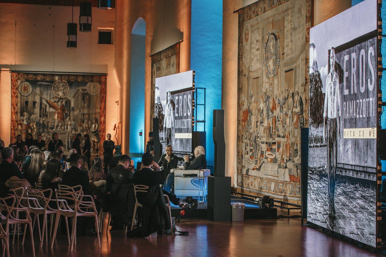 Albumo premjera vyko XV amžiuje pastatytojepilyje.<br>Organizatorių nuotr.